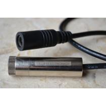 100mw 405nm Violet/Blue Focusable Adjustable Laser Dot Module w/ AC Adapter