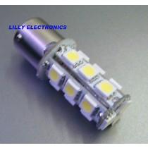 1x 1156 BA15S Car SMD bulb 18-5050 LED Warm White
