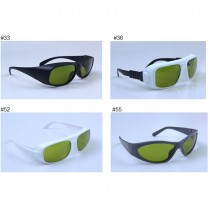 755nm 808nm 1064nm 33# 36# 52# 55# Laser Safety Glasses Semiconductor And High Power ND:YAG Laser Protection