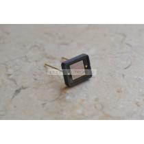 3pcs 2DU6 6x6mm Silicon Photocell Laser Receiver 400-1100nm w/ 2 pins