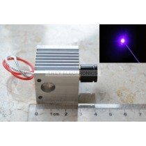 450nm 50mw Focusable Adjustable Blue Laser  Laser Dot Module with Aluminum Heatsink 3-5V