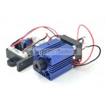 445nm 447nm 450nm 50mW Blue Laser Dot Module 12V+ TTL+ Fan Cooling