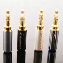 5pcs Wlx Sennheiser 3.5mm Gold-plated Plug Headphone Plug