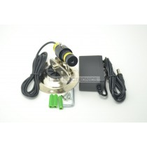830nm 250mW IR Infrared Focusable Dot Laser Module w/ Adapter w/ Mount 16x68mm