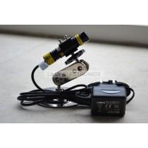 830nm 250mW IR Infrared Focusable Cross Laser Module w/ Adapter w/ Mount 16x68mm