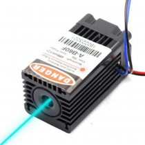 488nm 80-100mW 12V Sky Blue Laser Module Laser Head With Fan TTL Modulation DIY