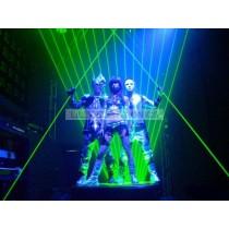 532nm 100mw Green Laser Sword Double-End Laser Dance