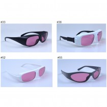 755nm 808nm 33# 36# 52# 55# Laser Protection Glasses  Semiconductor Laser Protective Glasses