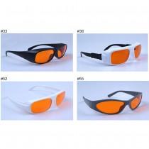 266nm 355nm 405nm 532nm 33# 36# 52# 55#  Laser Protective Glasses UV Laser Green Laser Safety Glasses