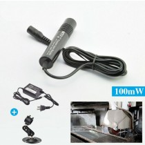 488nm Waterproof Cyan Blue  Laser Pointer Focusable Dot Laser Torch Flashlight