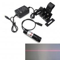 650nm 120mW Adjustable Red Line Laser Infrared Diode Laser Positioning Module