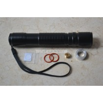 GD-350 Type Black Case/Housing/Host for Focusable Waterproof Laser Pointer/Torch