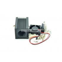33x33x50mm Laser Module Housing for 5.6mm TO-18 LD with Lens & Aluminium Part