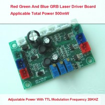 RGB Synthetic White  520-450-638nm 500mW Red Green And Blue Laser Drive Circuit