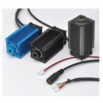 1W 12V Blue Point Laser Adjustable Focus Laser Module Transmitter Laser Printing Engraving