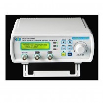 Full CNC Dual Channel DDS Function Arbitrary Wave Signal Generator Pulse Signal Source Frequency Meter
