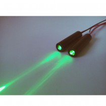 515nm 5mw Green Laser Module Point TTL Modulated Green Laser Control Frequency