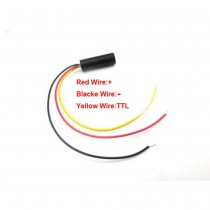 ClassⅡ 635nm 1mw Red Laser Point Module TTL Modulation 0-50KHZ 10 * 30 mm