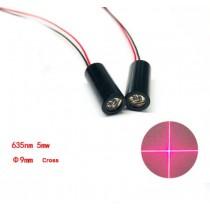 635nm 5mw Red Cross Laser 90 Degree Cross Laser Module Laser Cross Laser Positioning Light