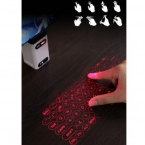 Laser Projection Keyboard Bluetooth Wireless 3D Infrared Light Sense Notebook Keyboard
