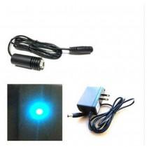 488nm 60mW Dot  Line  Cross Sky Blue Laser Adjustable Focus Laser Module Laser Instrument
