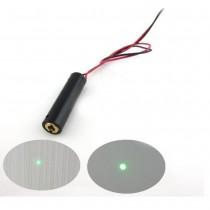 ClassⅡHighly Stable 532nm 0.4mw Green Spot Laser Module 8mm Diameter Green Point Laser Head