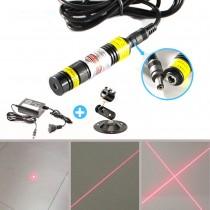 New 648-660nm 100mW Red Light Dot Line Cross Wireless Laser Marking Instrument