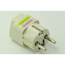 Universal Travel Adapter AU US UK to EU AC Conversion Electrical Plug 250V 10A