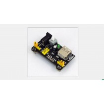 Wall adapter Barrel to 5V and 3.3V with USB Host